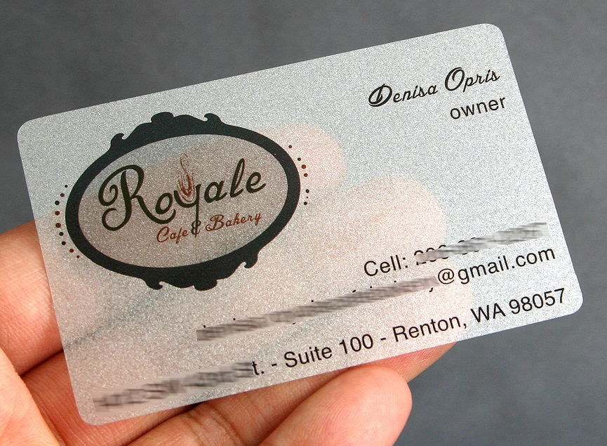 PET PEARL PLASTIC BUSINESS CARDS | MorningPrint Blog