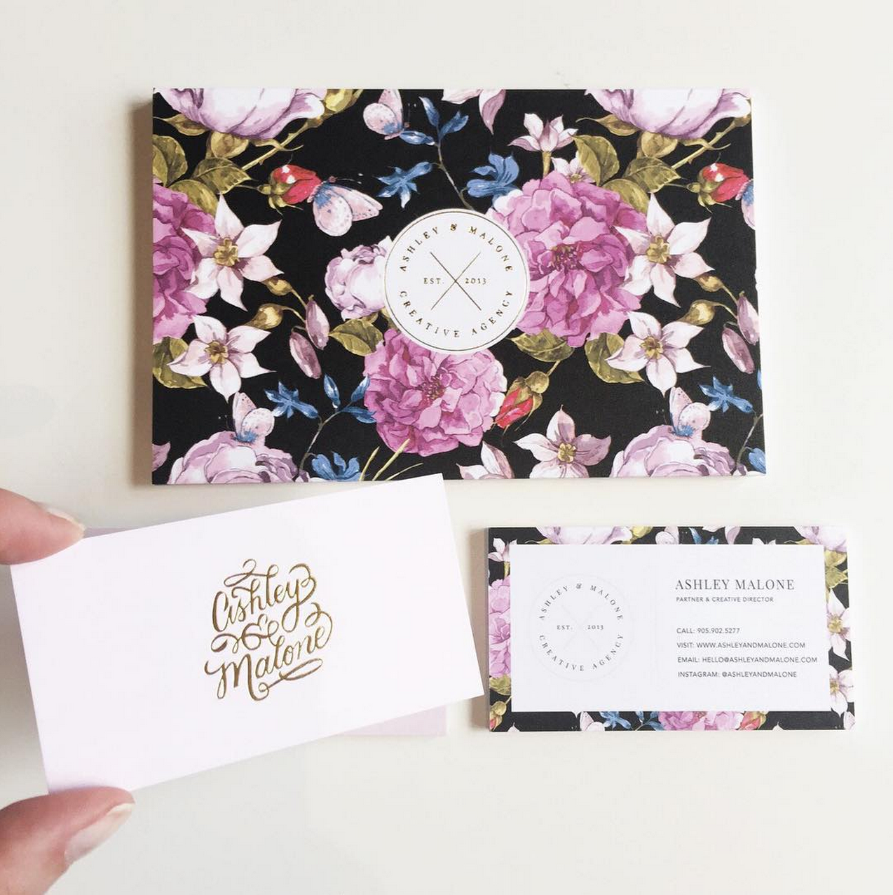 Business Card Design of the Month - October 2015