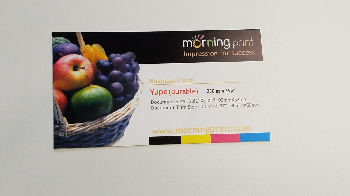Introducing Yupo: Durable and Waterproof | MorningPrint Blog