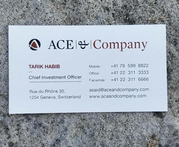 Corporate Power Card 10
