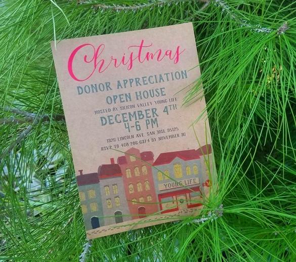 Vintage Kraft Holiday Card