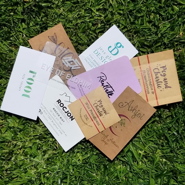 Eco-friendly Business Cards and Stickers All