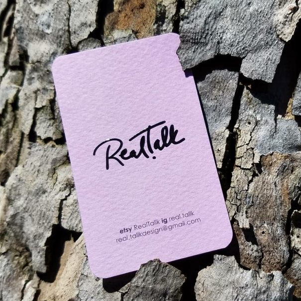 Eco-friendly Business Cards and Stickers Aquarelle