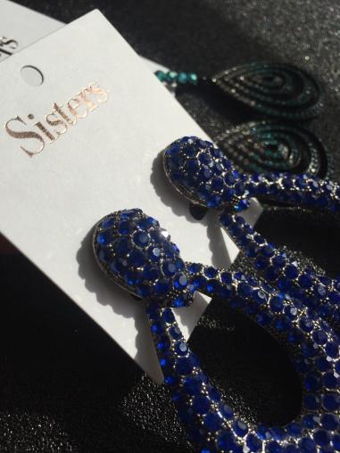 Design of the Month August 2018 Dark Earrings
